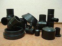 Фитинги литые полиэтиленовые ПНД, ПЭ